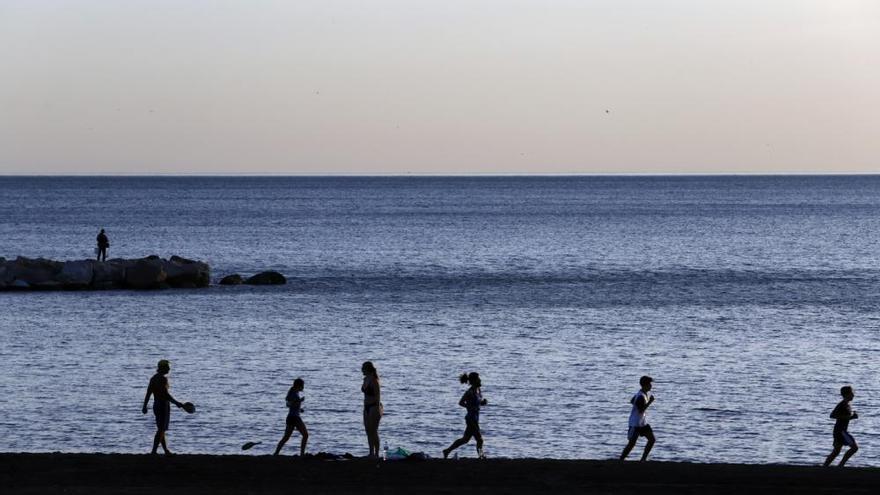 ¿Un día de playa en noviembre? En Málaga, sí