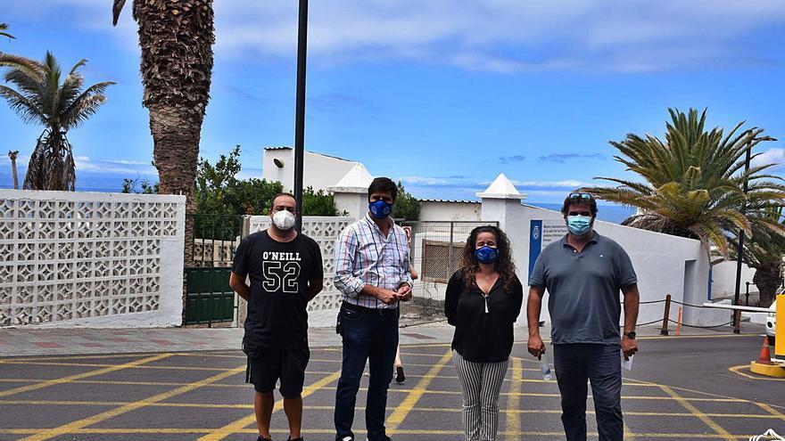 Mejora de la estación de bombeo de aguas residuales en Los Gigantes