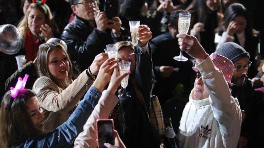 Telecinco begrüßte das Jahr 2019 von Sant Llorenç aus