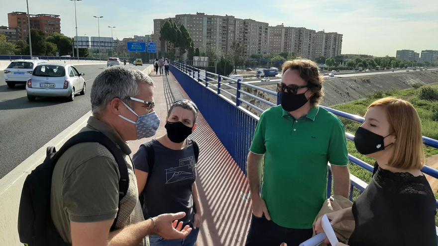 Xirivella exige un nuevo proyecto de conexión entre la V-30 y la A-3