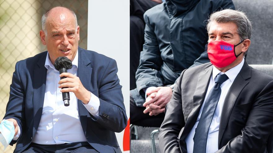 Tebas respon Laporta que l'acord amb CVC no hipoteca els drets televisius del Barça