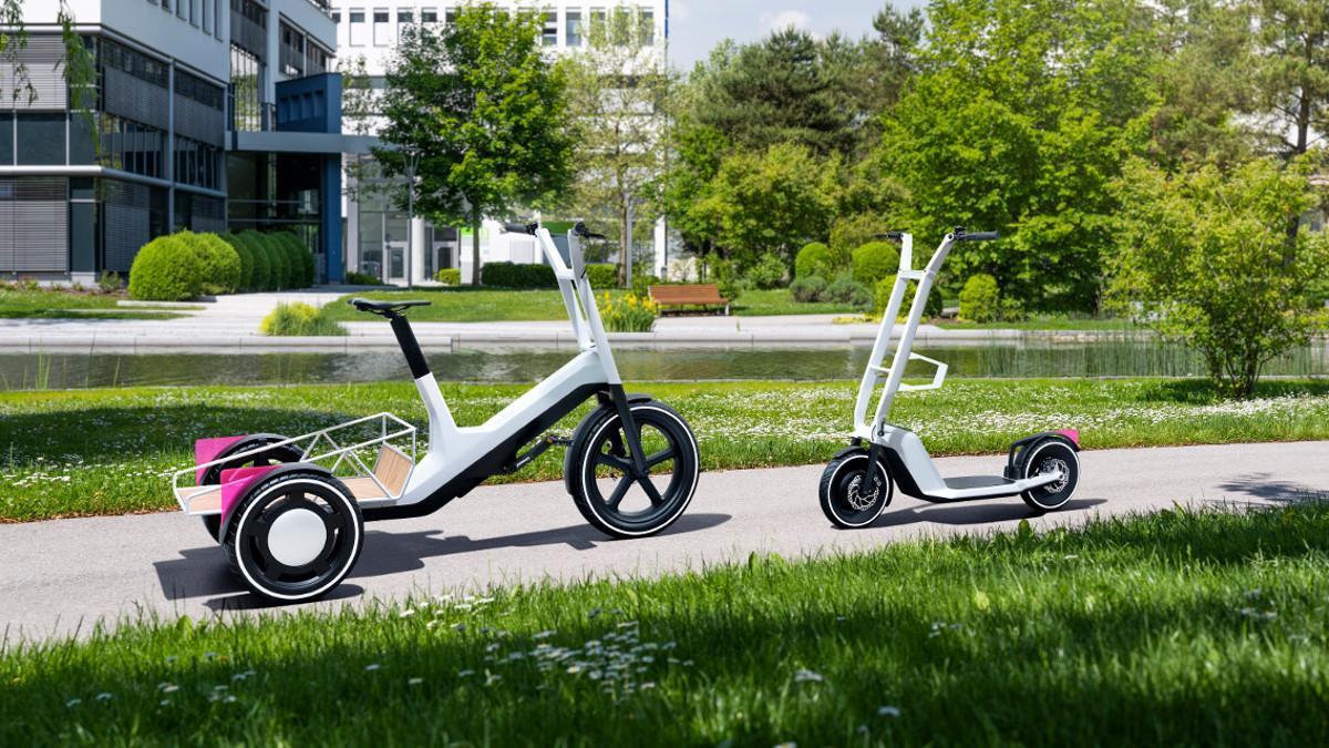 BMW presenta un nuevo patinete eléctrico y una innovadora bicicleta de carga