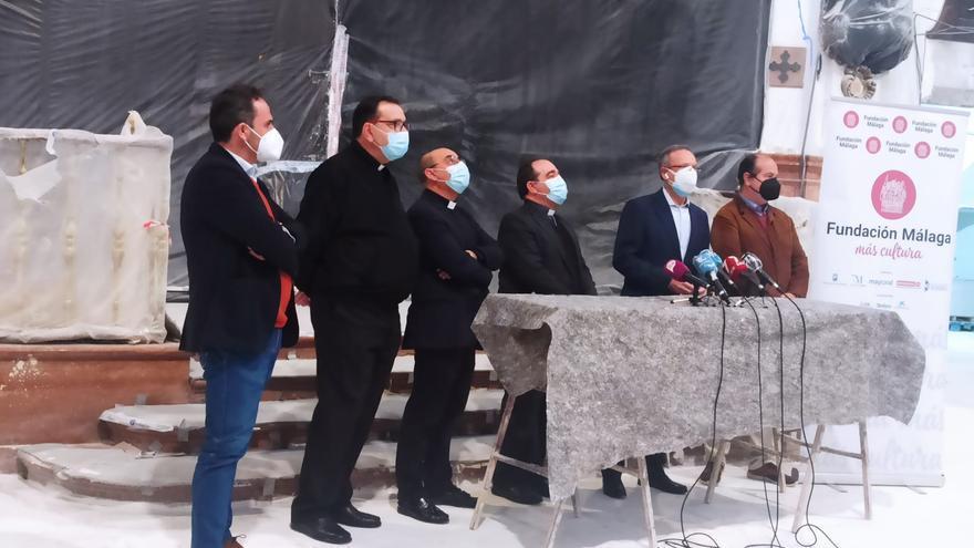 Acuerdo para restaurar casi una treintena de lienzos de los Santos Mártires