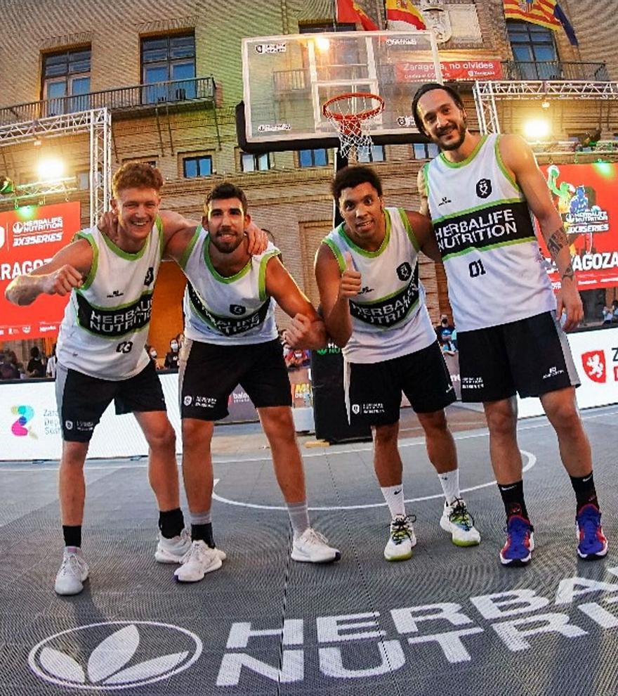 El 3x3 Pitiús representa a España en el World Tour de Praga
