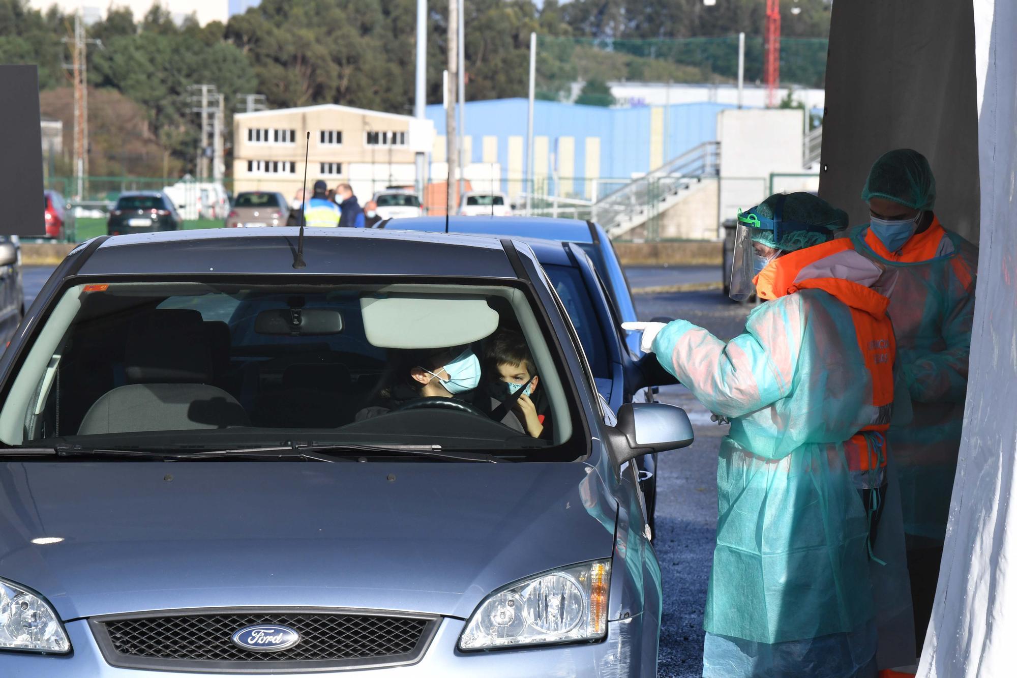 Arranca el cribado en Arteixo, el concello con una mayor incidencia en la comarca de A Coruña