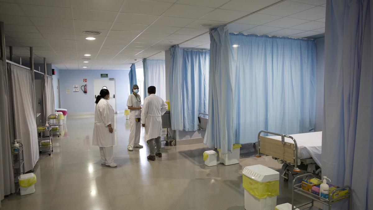 Augmenten els ingressats per Covid-19 a l'Hospital de Figueres