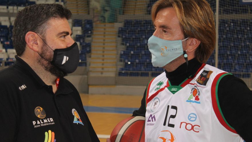 Biel y Vicenç Palmer animan al Palma ante su próximo duelo frente al Granada