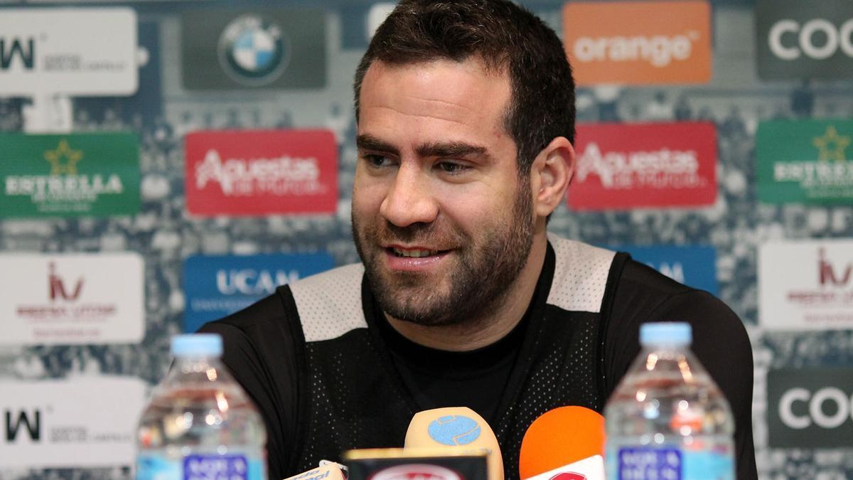Carlos Cabezas en una comparecencia ante la prensa.