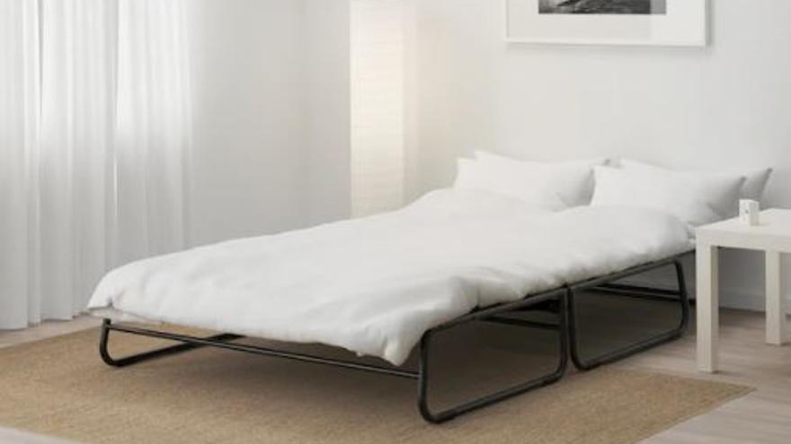 El práctico sofá-cama que triunfa en Ikea por su precio