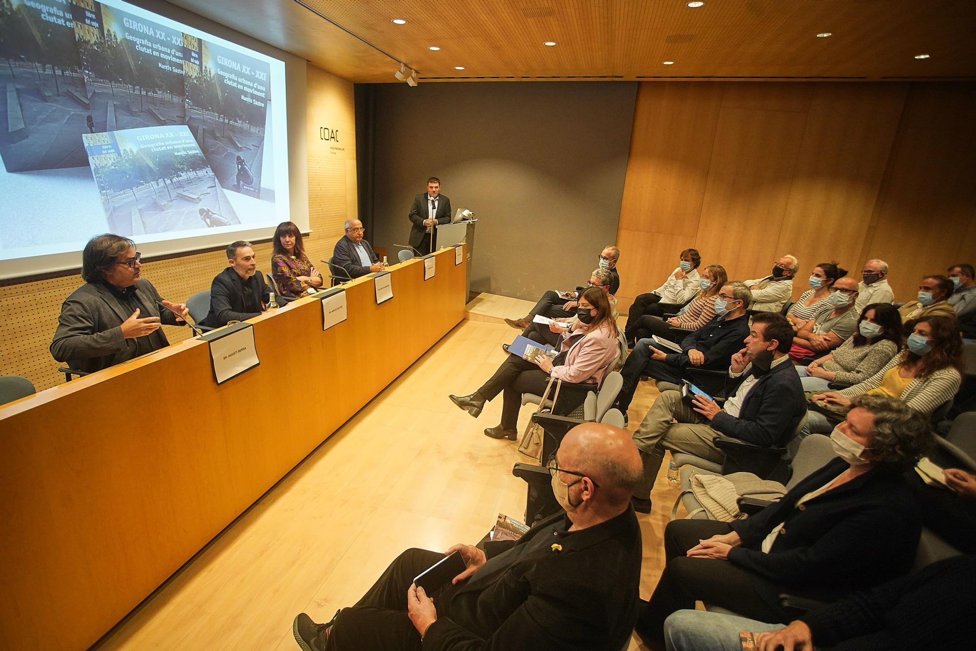 Presentació del llibre «Girona XX-XXI. Geografia urbana d'una ciutat en moviment» del geògraf Narcís Sastre