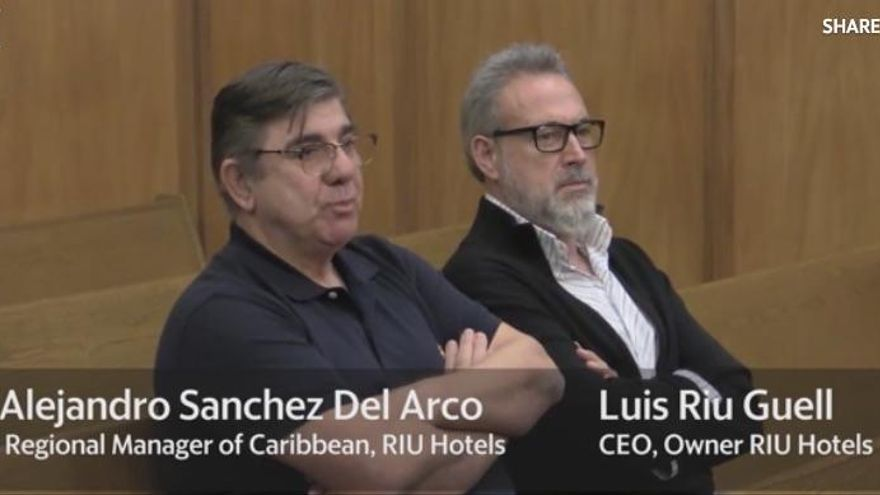 En libertad Luis Riu, propietario de Riu Hoteles, tras ser detenido por presunta corrupción