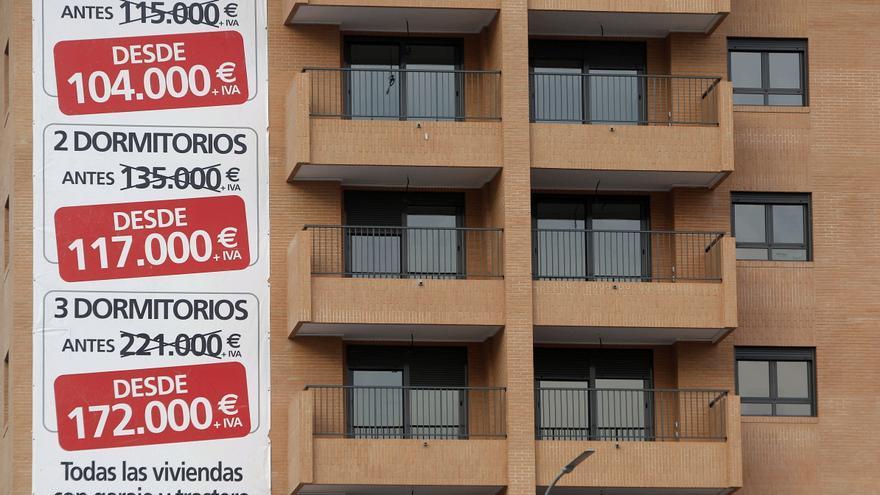 El precio de la vivienda cierra 2020 con una caída del 1,8%