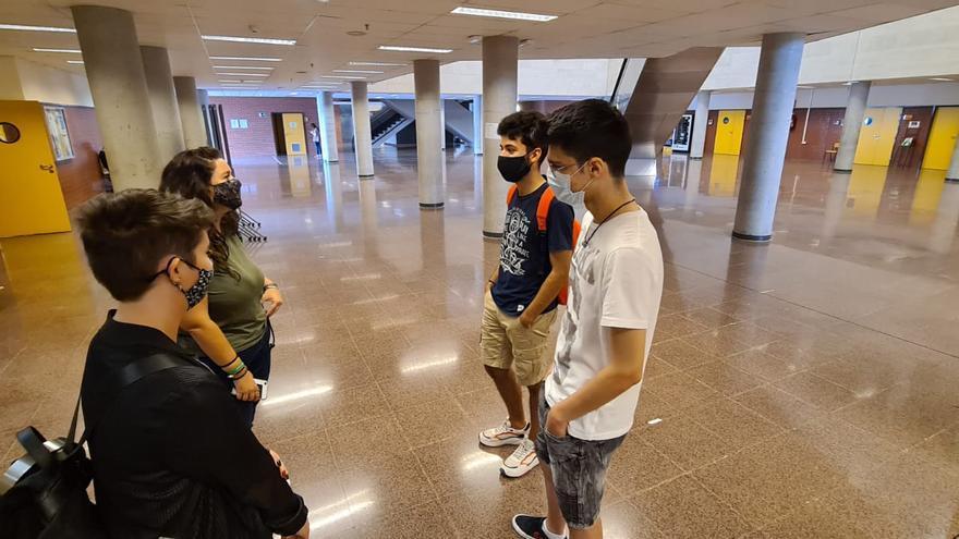 Así es ser nuevo en el campus y en medio de una pandemia