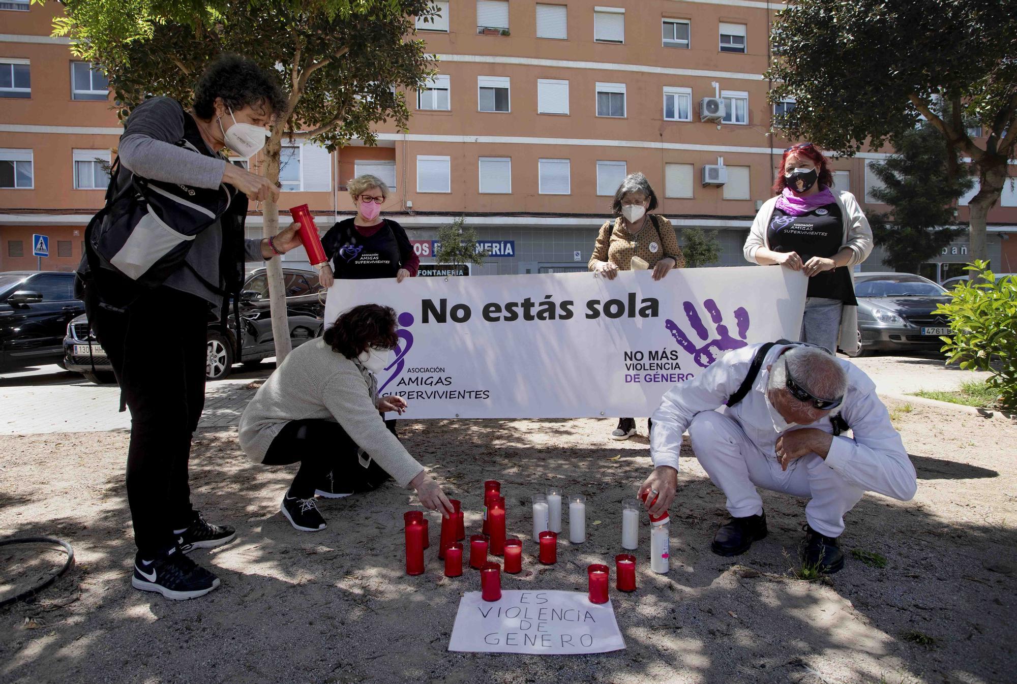 Condena y dolor en Sagunt por el asesinato de Soledad.