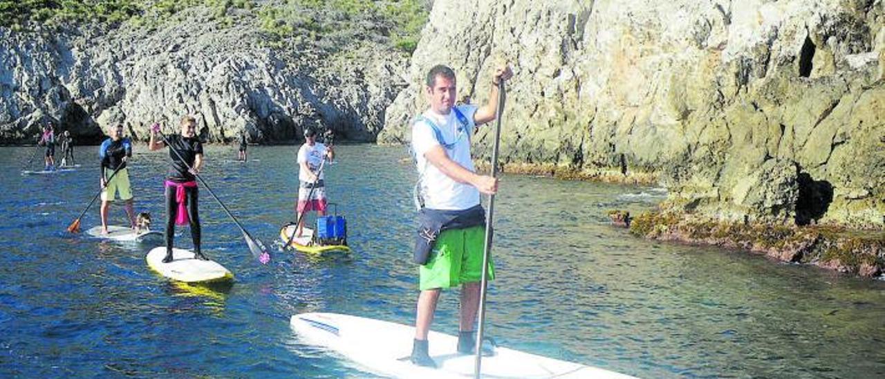 Die schönsten Touren mit dem Stand-up-Paddle auf Mallorca