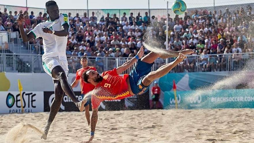 La selección española de fútbol playa se concentra en El Viso