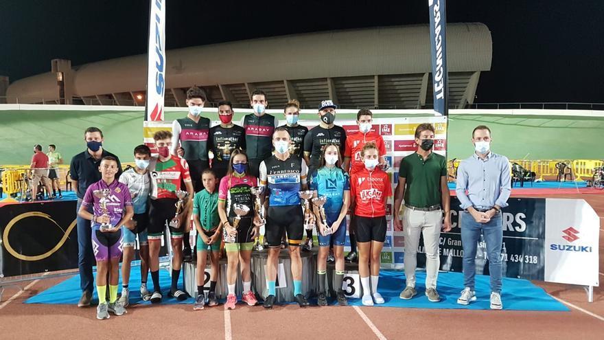 Llorenç Tomàs se adjudica la Challenge de ciclismo en pista 2021
