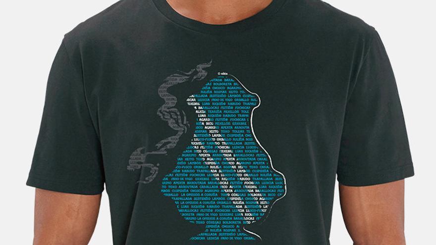 Conmemora el Día de Galicia vestido para la ocasión