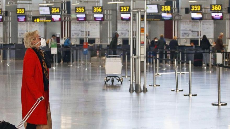 La Navidad da un respiro al aeropuerto de Málaga, que retomará importantes rutas