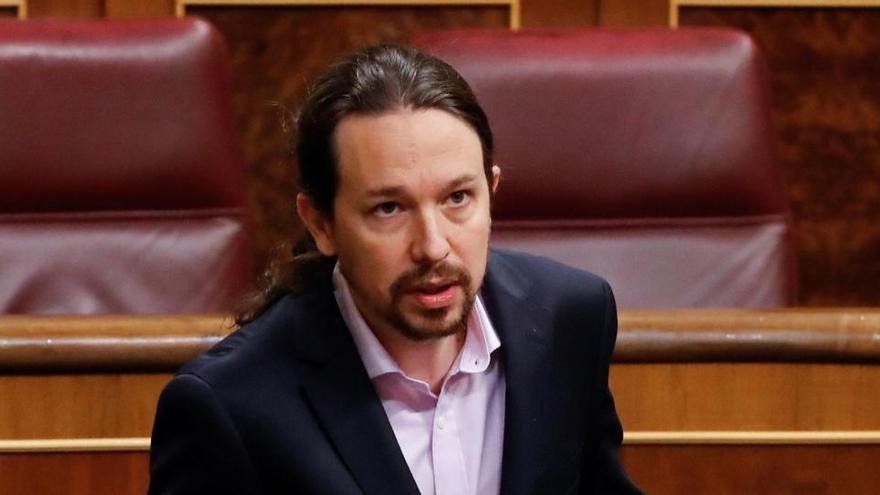 """Iglesias ve """"injusta"""" la cárcel para Cuixart y Sànchez y avala que se estudie su indulto"""