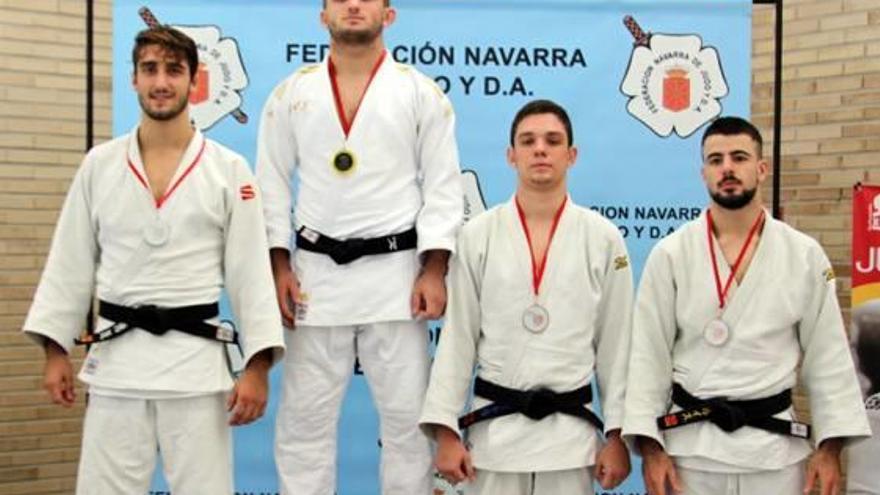 El judoca alcireño Varela ya es número uno de España en menos de 73 kilos