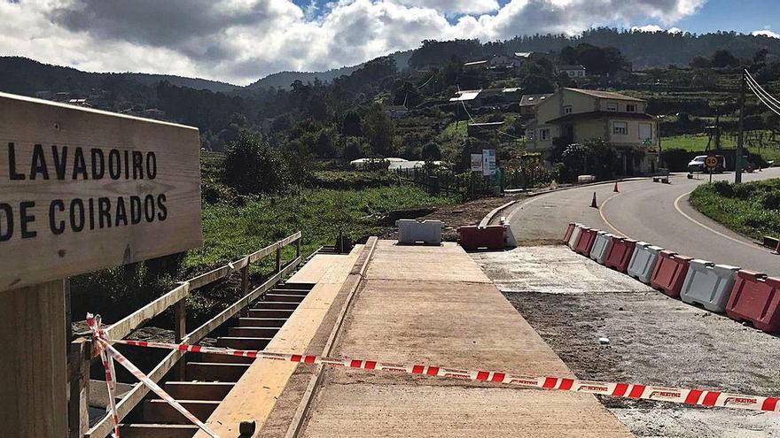 La senda peatonal entre Coirados y Pardavila avanza a buen ritmo