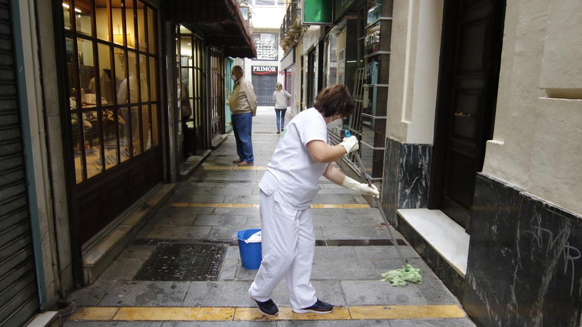Las trabajadoras del hogar no tiene derecho a paro y forman parte de uno de los colectivos más precarios