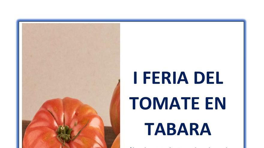 Tábara celebra la I Feria del Tomate este sábado