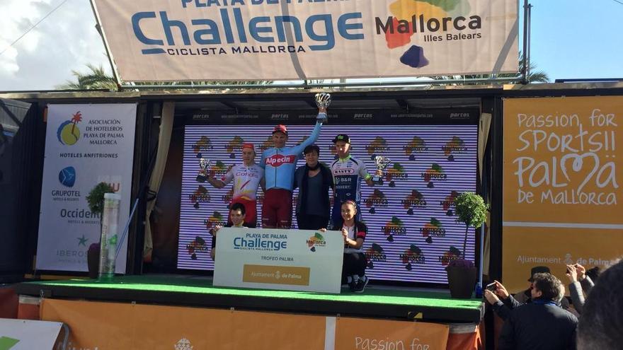 Kittel impone su velocidad en el esprint final de la Challenge Vuelta a Mallorca