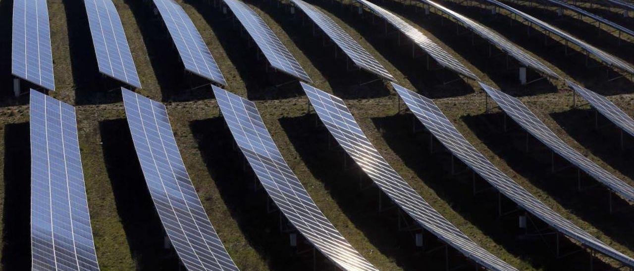 Parque de producción de energía fotovoltaica