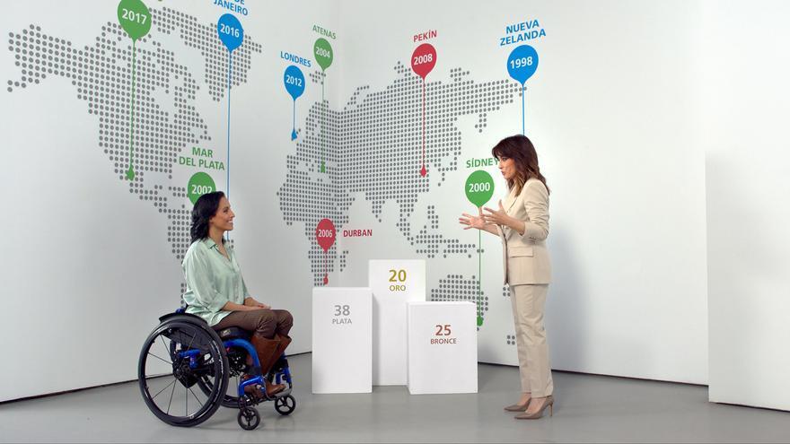 Teresa Perales y su capacidad para enfrentar nuevos retos