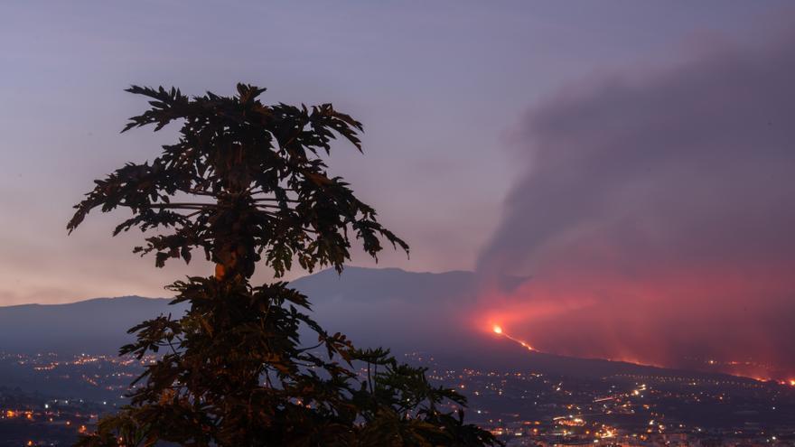 La erupción del volcán de La Palma se estabiliza con escaso avance de la lava y menor sismicidad