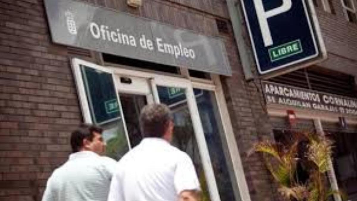 Oficina de Empleo en Santa Cruz de Tenerife.