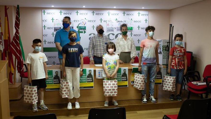 Concurso infantil de dibujo de la AECC para celebrar el Día Mundial sin Tabaco en Zamora