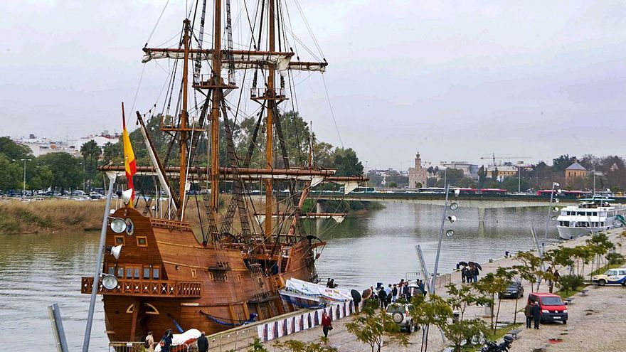 El galeón 'Andalucía' estará en el puerto de Ibiza hasta el 24 de octubre