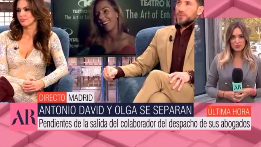 Separación de Antonio David y Olga Moreno: el vídeo de la supuesta amante esperando por él el día que todo se destapó