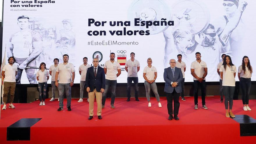La UCAM y el COE presentan la Campaña 'Por Una España Con Valores'