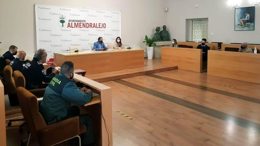 Fijan medidas para evitar contagios durante esta Semana Santa en Almendralejo