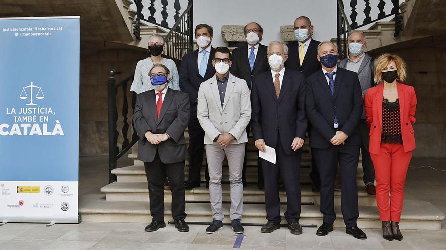 El mundo jurídico se une para que el catalán sea de uso habitual en la Justicia