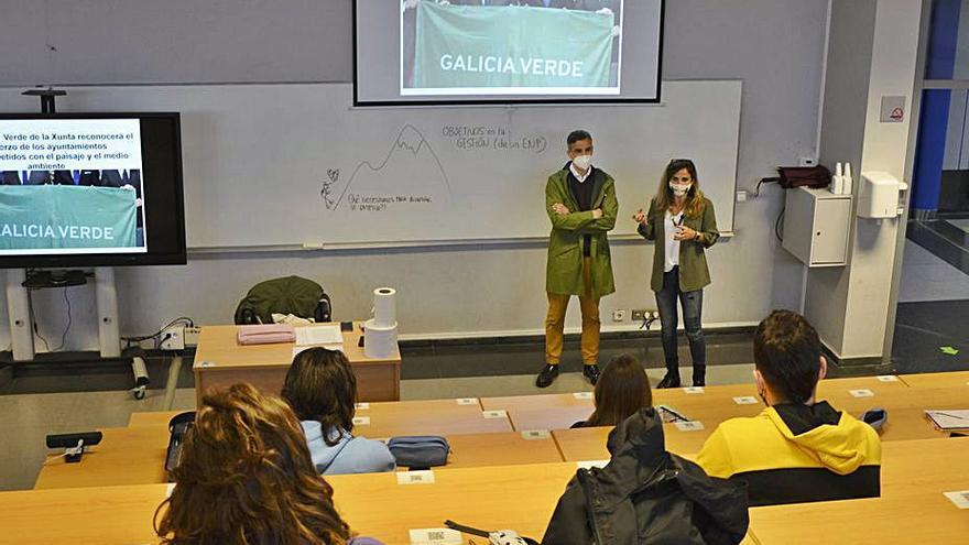 Alumnos del campus ensayarán la posible concesión de la bandera verde a Ourense