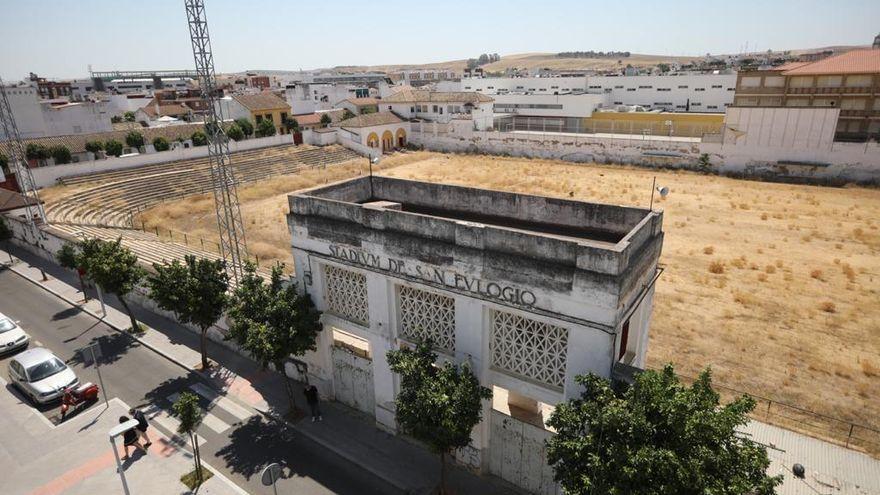 Los vecinos del distrito Sur exigen que se dé uso al estadio San Eulogio