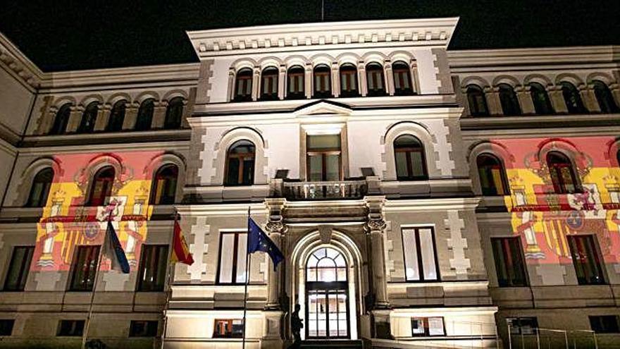 La sede de la Xunta celebra la Fiesta Nacional