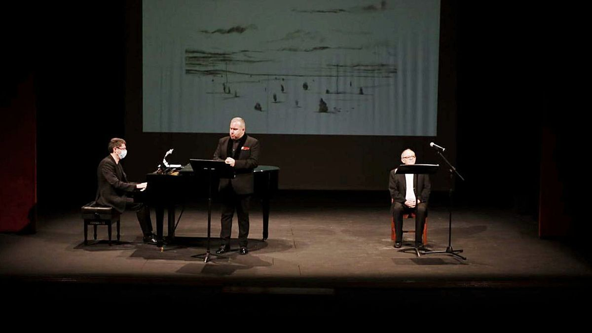 Vieja Castilla Vieja, homenaje a Miguel Delibes en el Teatro Principal