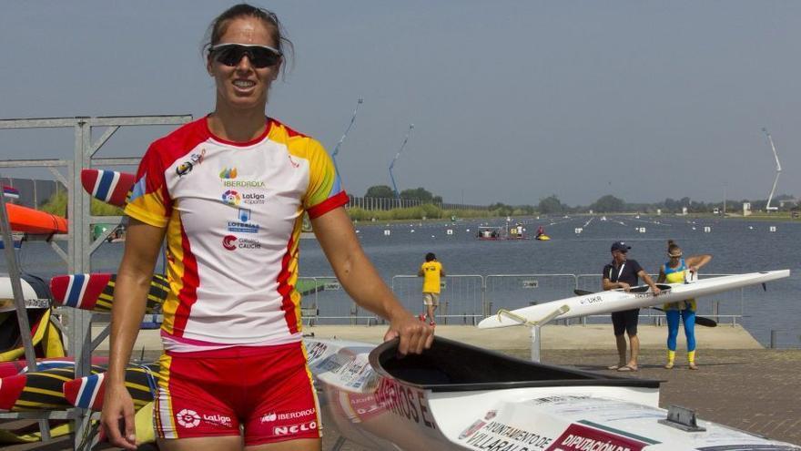 Eva Barrios acaba séptima en el K-1 5.000 del Campeonato de Europa de Esprint