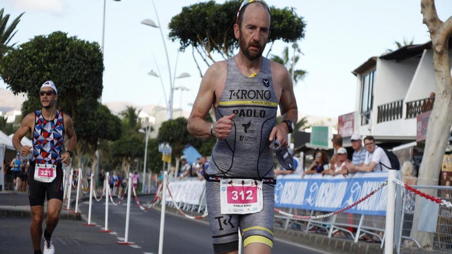 El 'Ocean Lava Lanzarote Triathlon' suspendido por el coronavirus