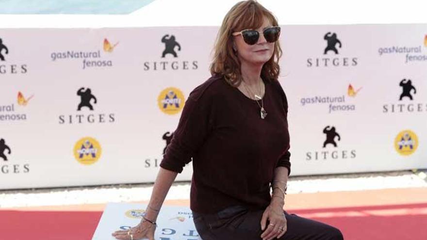 """Susan Sarandon: """"La televisión da oportunidades a personajes femeninos arriesgados"""""""