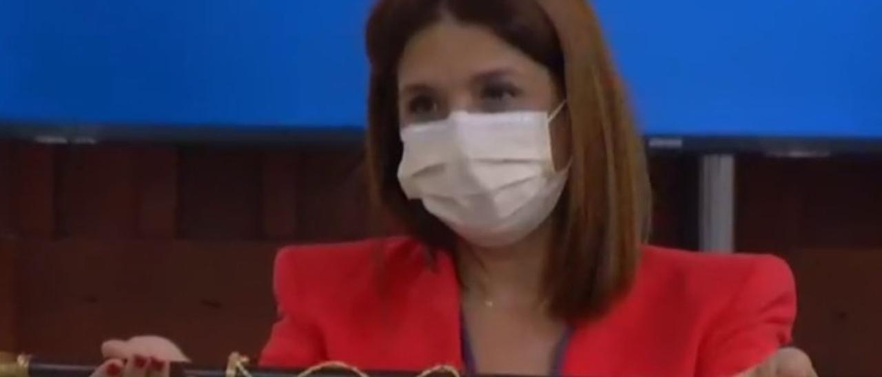 Carmen Hernández, nueva alcaldesa de Telde