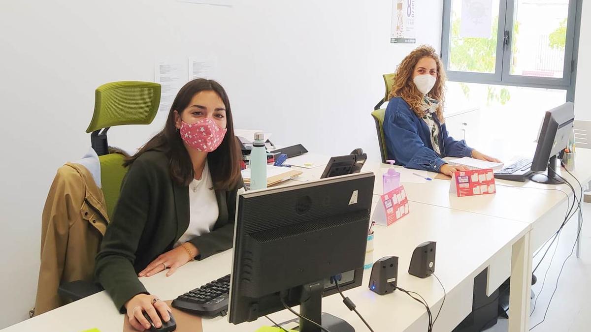 Gloria Mateos y Alba Manzano, nuevas Agentes de Igualdad de Tentudía