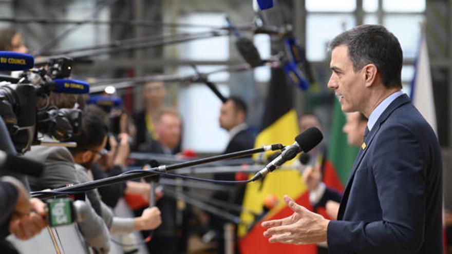 Sánchez ve decepcionante el presupuesto de la UE