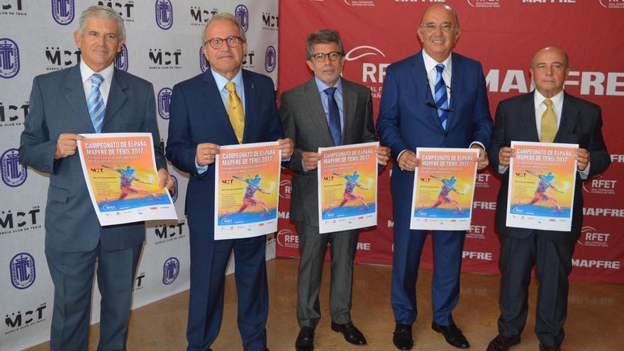 El Murcia Club de Tenis acelera hacia su centenario con el Nacional por equipos
